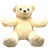 Мягкая игрушка Aurora Медведь Обними меня Белый 72 см (61370B)